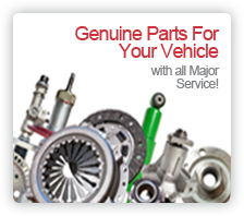 Genuine Parts for Your Vehicle