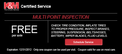 Coupon - Free Multi-Point Inspection
