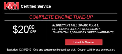 Coupon - Brake Pads Installation